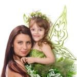Two magic fairies — Stock Photo #5358713