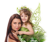 Two magic fairies — Stock Photo