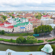 Panoramic view of a Vyborg, Russia — Stock Photo #4350753