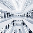 Stock Photo: Panoramic view of modern mall