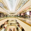 Panoramic view of a modern mall — Stock fotografie