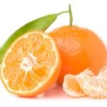 Fresh mandarin — Stock Photo #4935766