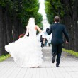 Just married couple — Stock Photo #5233988