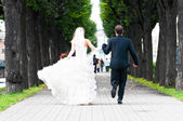 Juste mariés — Photo