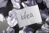 Ideas evolution — Stock Photo