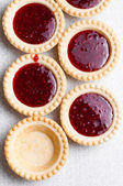 Tasty tartlets — Stock Photo