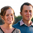 Young attractive couple — Stock Photo
