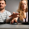 Couple with laptop — Stock Photo #5349773