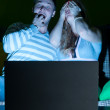 Couple with laptop — Stock Photo #5349803