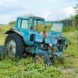 Broken Tractor — Stock Photo