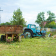 Broken Tractor — Stock Photo