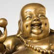 Figurine Cheerful Hotei — Stock Photo #4949683