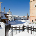 Russian monastery — Stock Photo