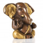 Ancient Statuette of Ganesha — Stock Photo
