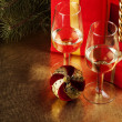 Christmas still life — Stock Photo #4078690
