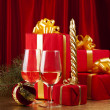 Christmas still life — Stock Photo #4096973