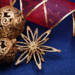 Christmas still life with decorations - Stock Photo