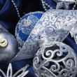 Christmas still life with decorations — Stockfoto