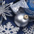 Christmas still life with decorations — Stock Photo #4508709