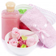 Set of Hygienic Cleansing Supplies — Stock Photo