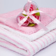 Convolute towels — Stock Photo
