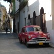 Stock Photo: Picture of old americcar in Havana, Cuba