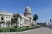 Capitol construindo em havana, cuba — Foto Stock