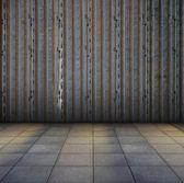 Staré kovové interiér — Stock fotografie