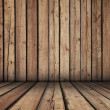 Wooden room — Stock Photo #3991977