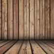 Wooden room - Stock Photo