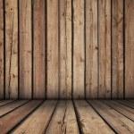 Wooden room — Stock Photo