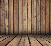 Wooden room — Stock Photo