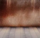 Grunge metallic interior — Stock Photo