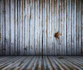 グランジ金属インテリア — ストック写真