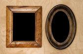 Portafoto vuoto wintage — Foto Stock