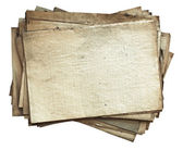 Stack of old papers — Stock Photo