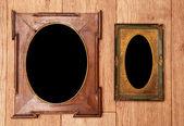 Lege vintage foto-frames — Stockfoto