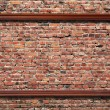 Royalty-Free Stock Photo: Photo frame on brick wall