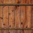 Frame on wooden wall — Foto de Stock