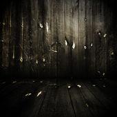 Chambre en bois — Photo