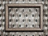 Frame on wallpaper — Stock Photo