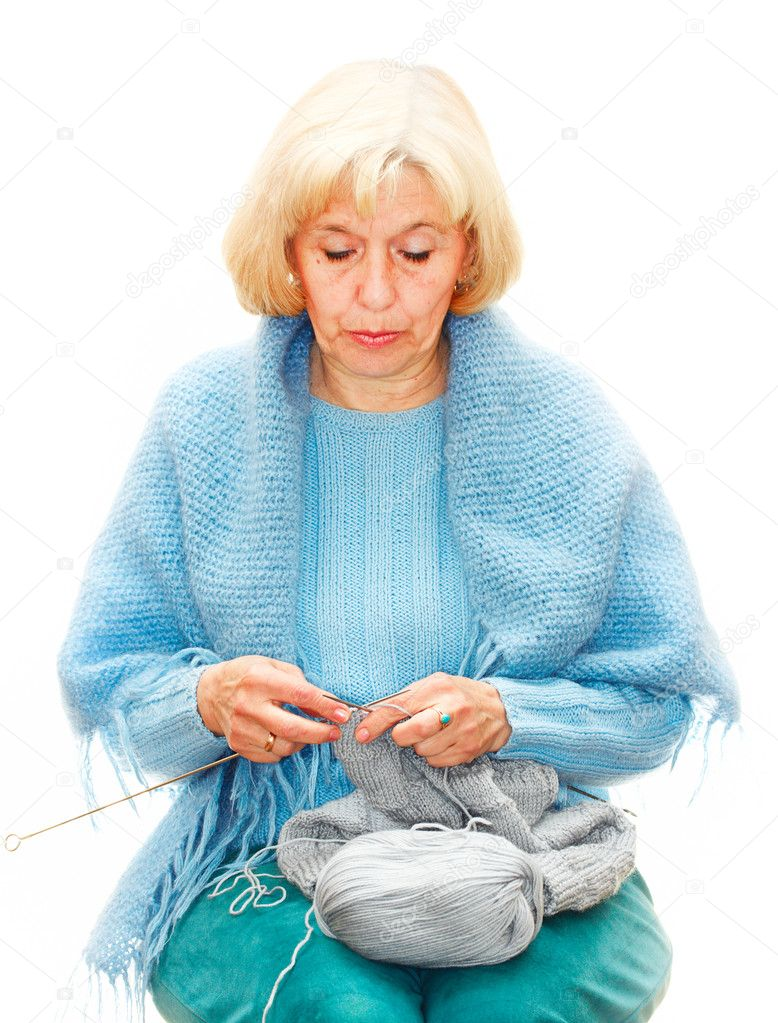 Old Knitting Woman : Woman knitting gallery