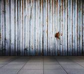 Vecchio interni metallici — Foto Stock