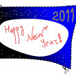 Happy New Year 2011 — Stockfoto #4329838