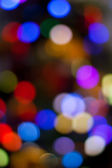 Blurred lights — Stockfoto