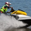 Stock Photo: High-speed jetski