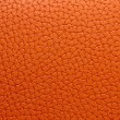 Orange leather macro — Stock Photo