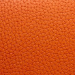 Orange leather macro - Stock Photo