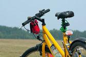 Yellow bicycle — Photo
