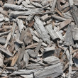 Stack on wood chippings - Stock Photo